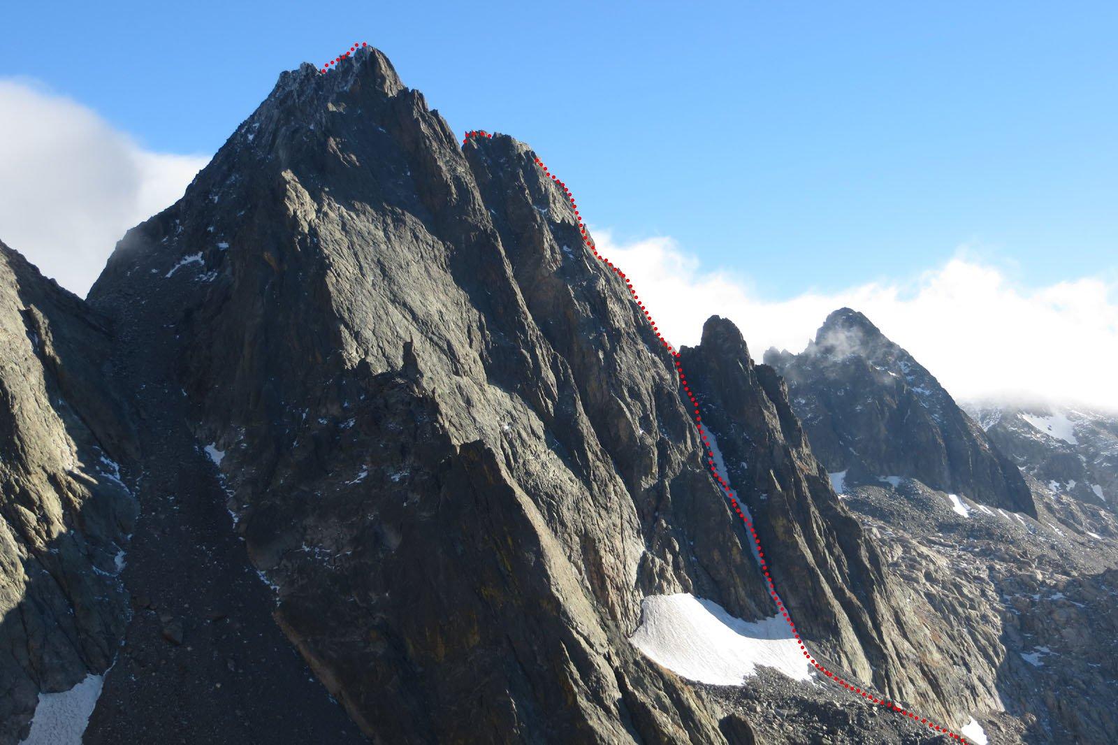 il percorso (visto dalla De Cessole, novembre 2013)