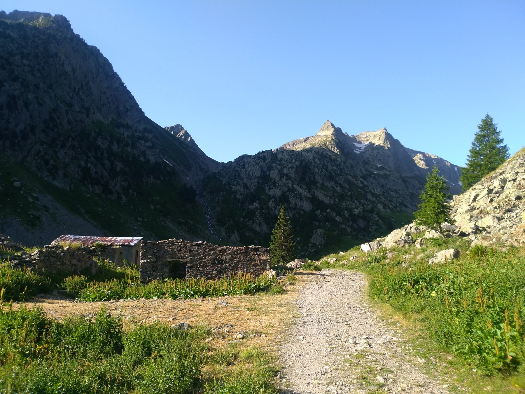 Autaret (Testa dell'), cime Ovest e Centrale da San Bernolfo per il Passo di Collalunga 2019-07-06