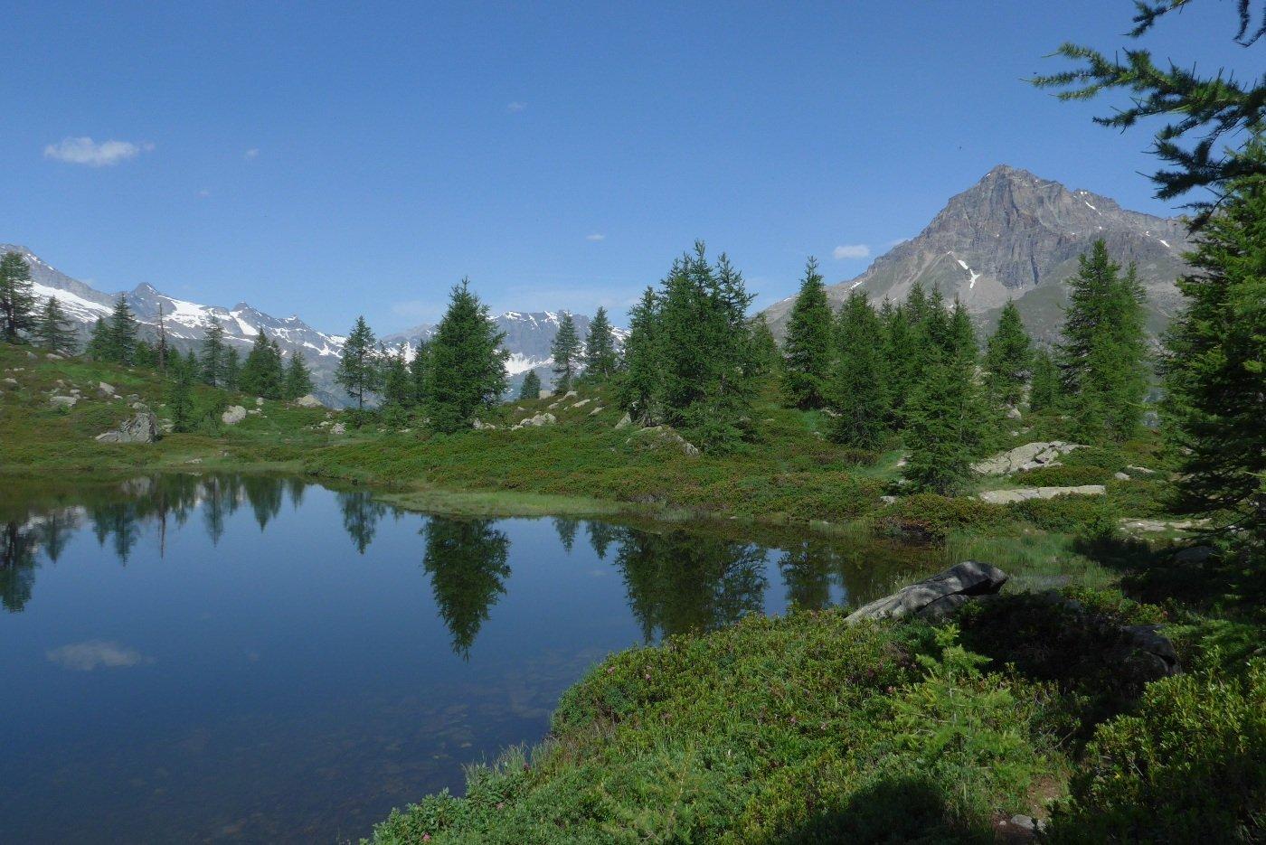 Il primo lago e il Courmaon
