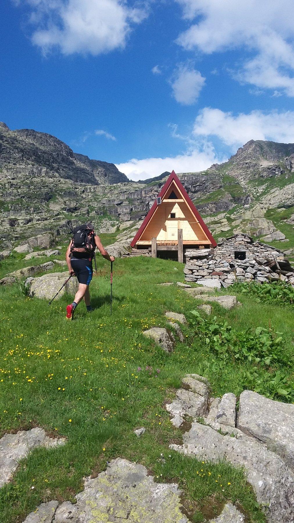 Nuovo bivacco all'Alpe Veilet
