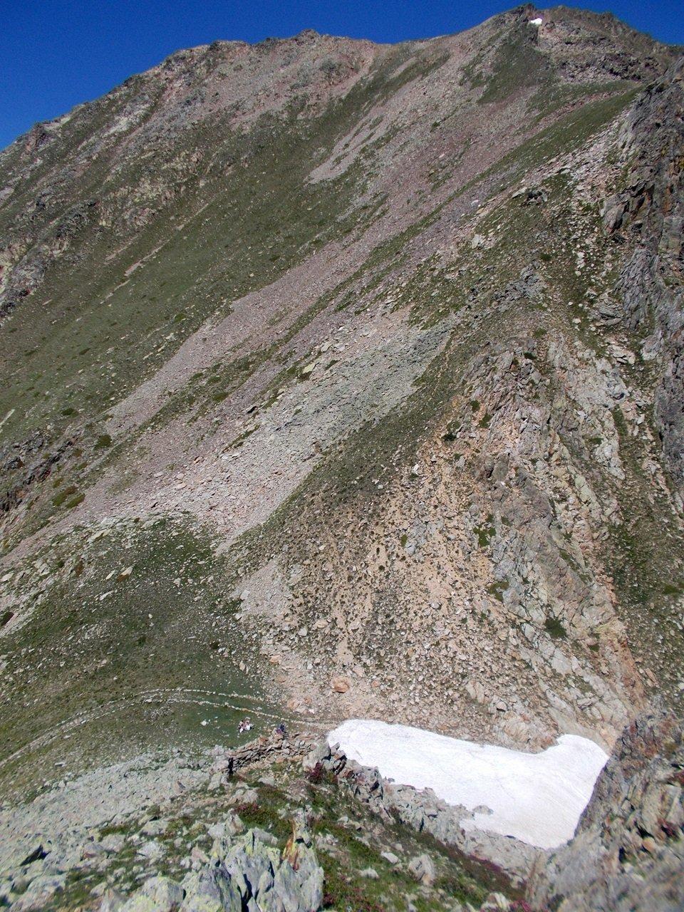 Il Colle dei Morti e il Monte Aver