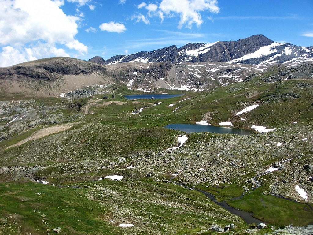 Lago e rifugio Miserin