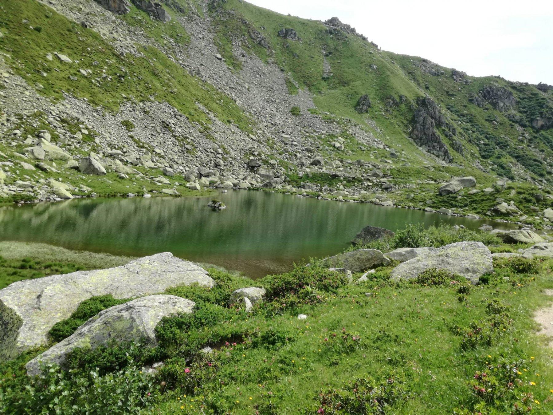 uno dei laghi Sagnasse