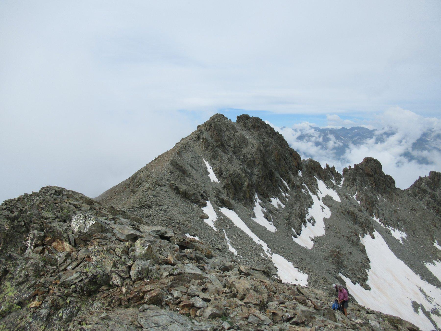 Punta Dante da Punta Michelis.