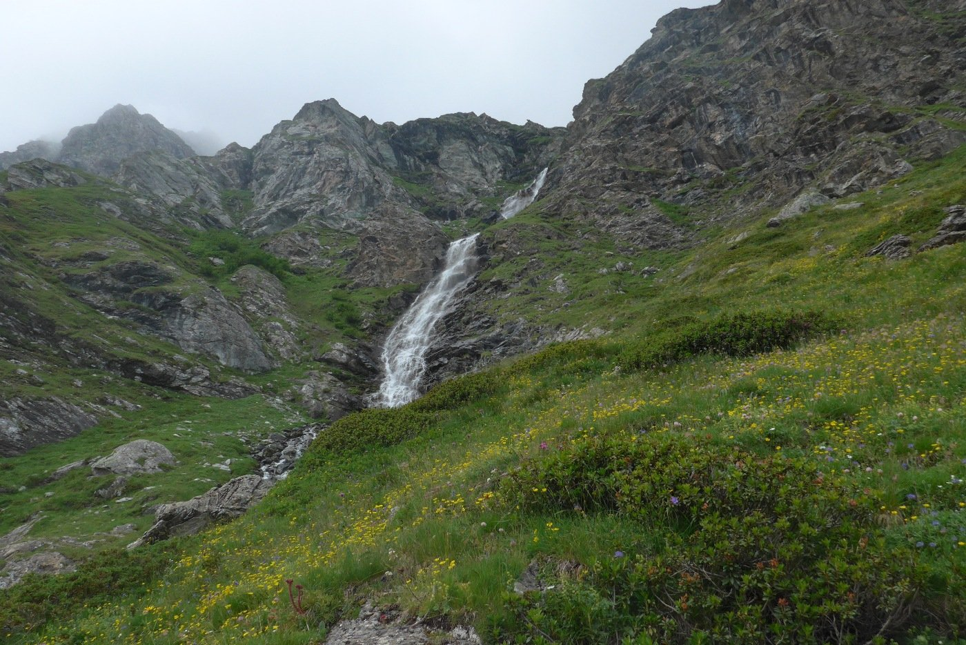 La cascata del rio dei Muret