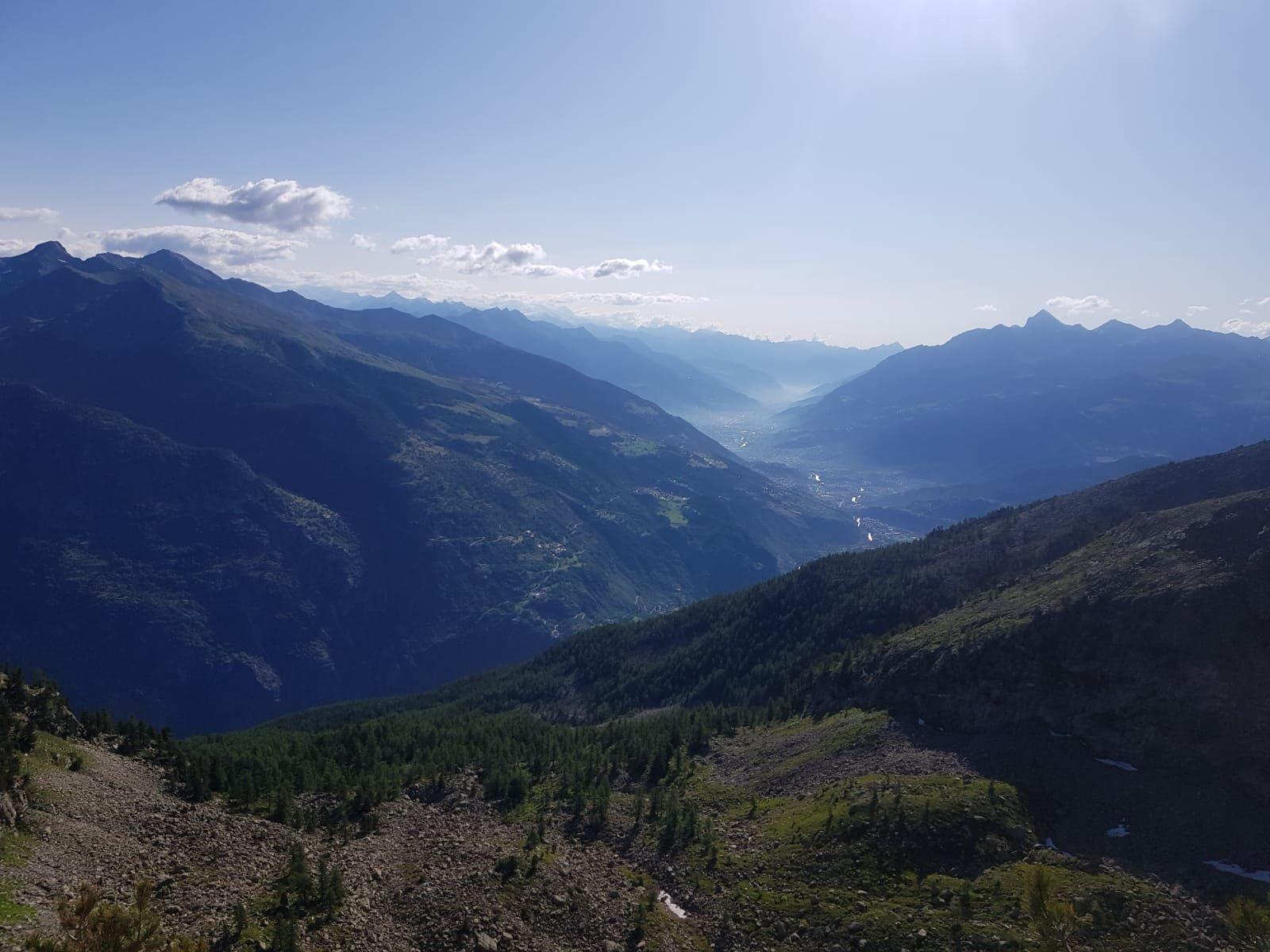 sguardo su Aosta