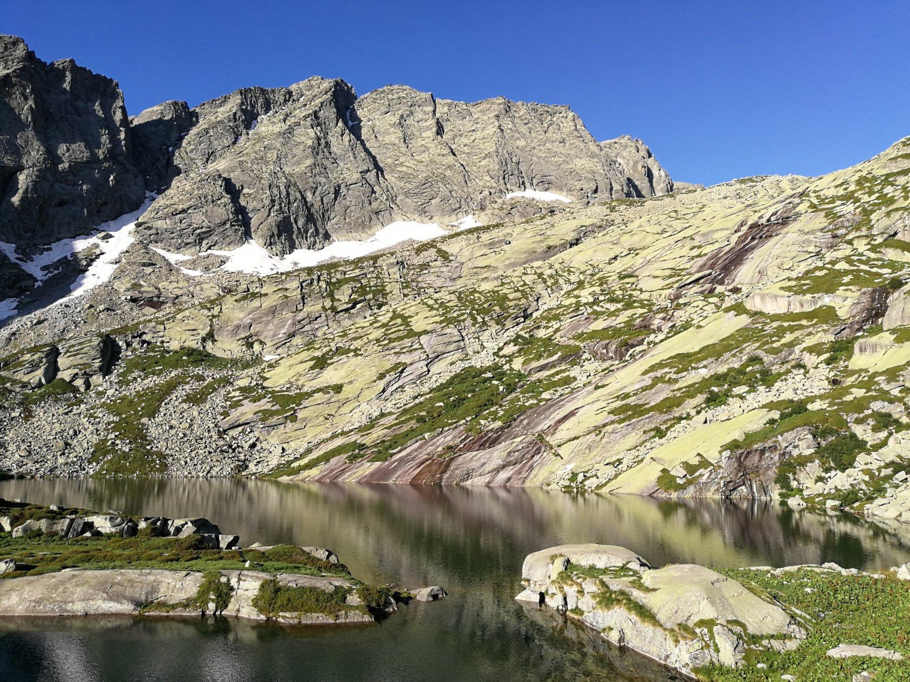 Al lago Lasin (foto E. Lana).