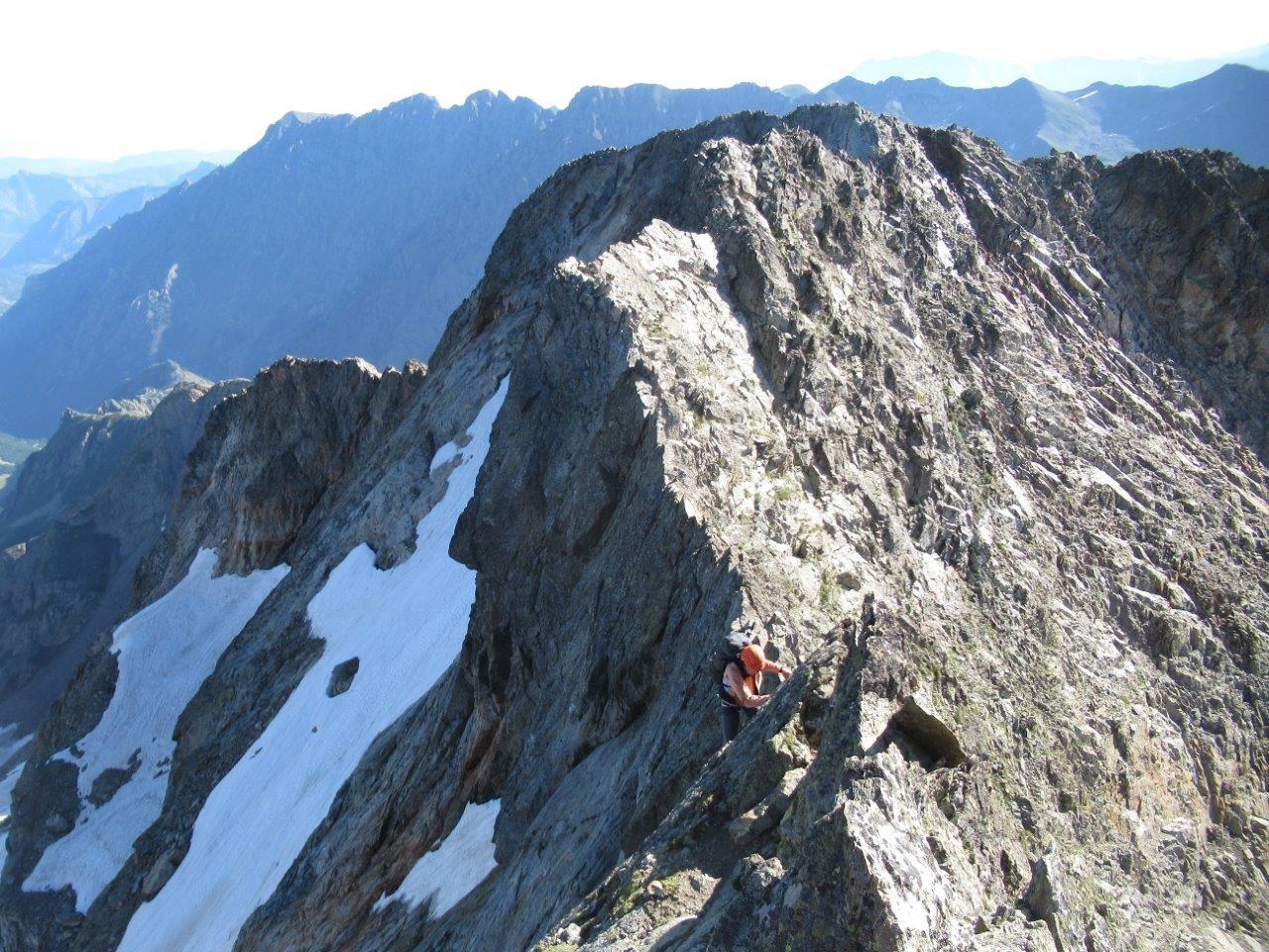 Dalla cima Chiafron uno sguardo indietro