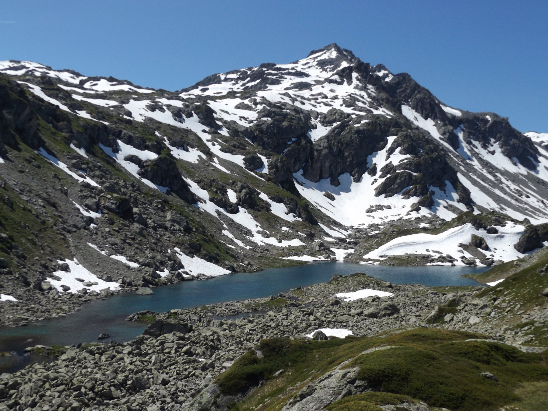 1° lago di Bella Comba