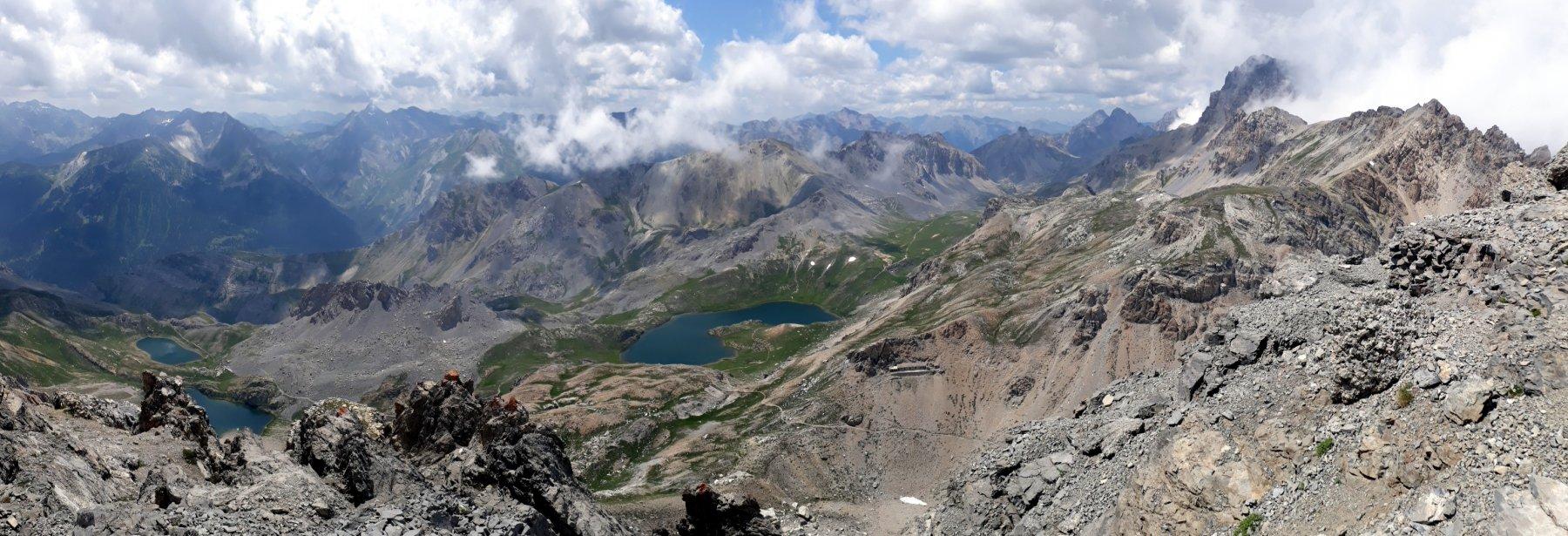 Laghi di Roburent dal Monte Scaletta