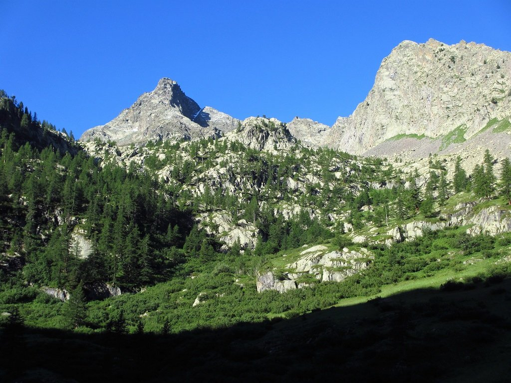 Becco Alto del Piz dal Vallone delle Scolettas