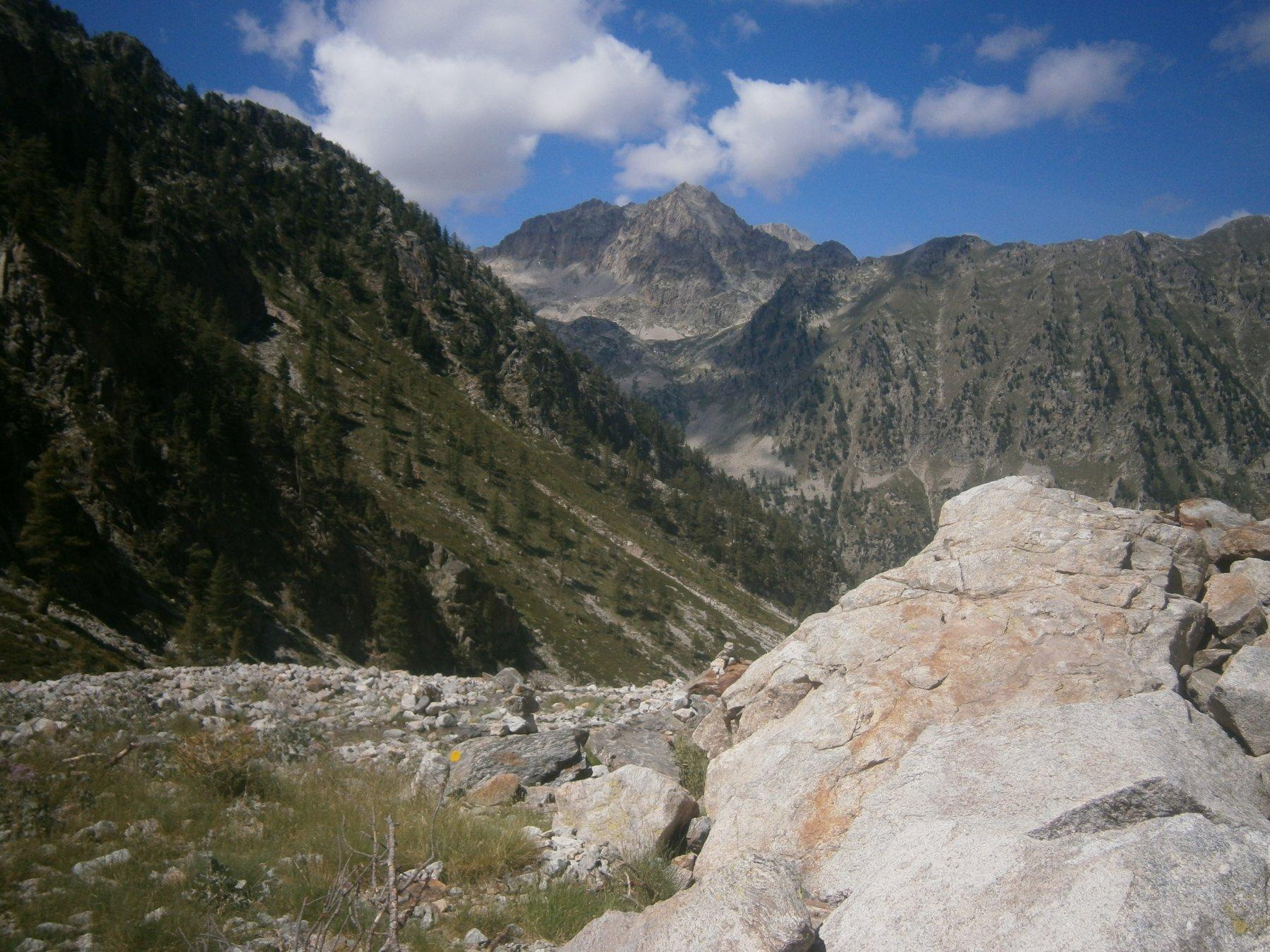 Testa sud e nord di Bresses