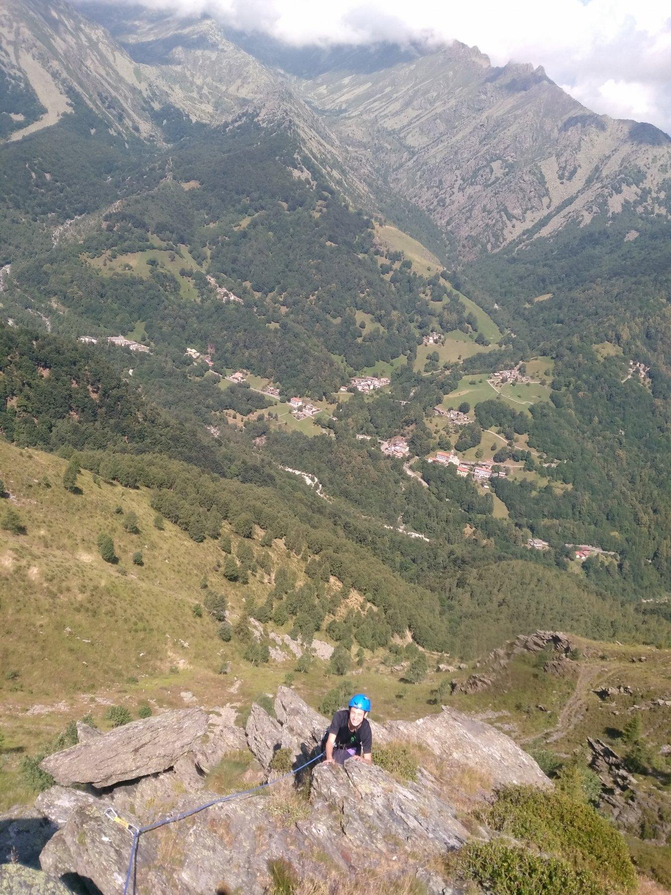Pian del Secco (Rocce) Panorama su Forno 2019-07-17