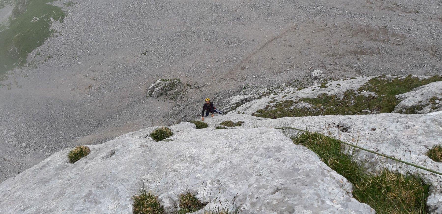 Presolana del Prato Torrione Sud - Tramonto di Bozard 2019-07-19
