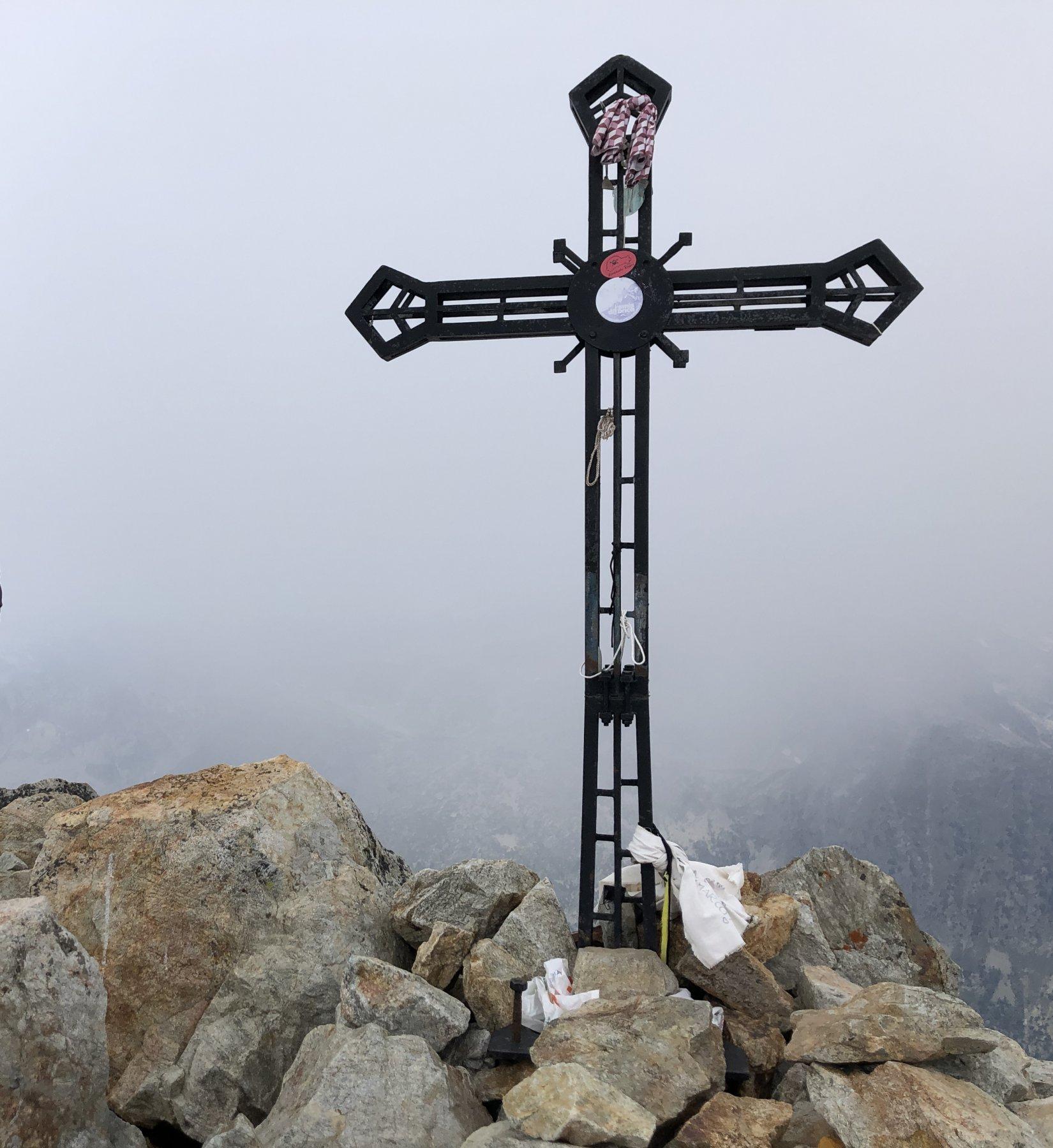 Croce Cima Sud Argentera 3297 mt (CAI FOSSANO)