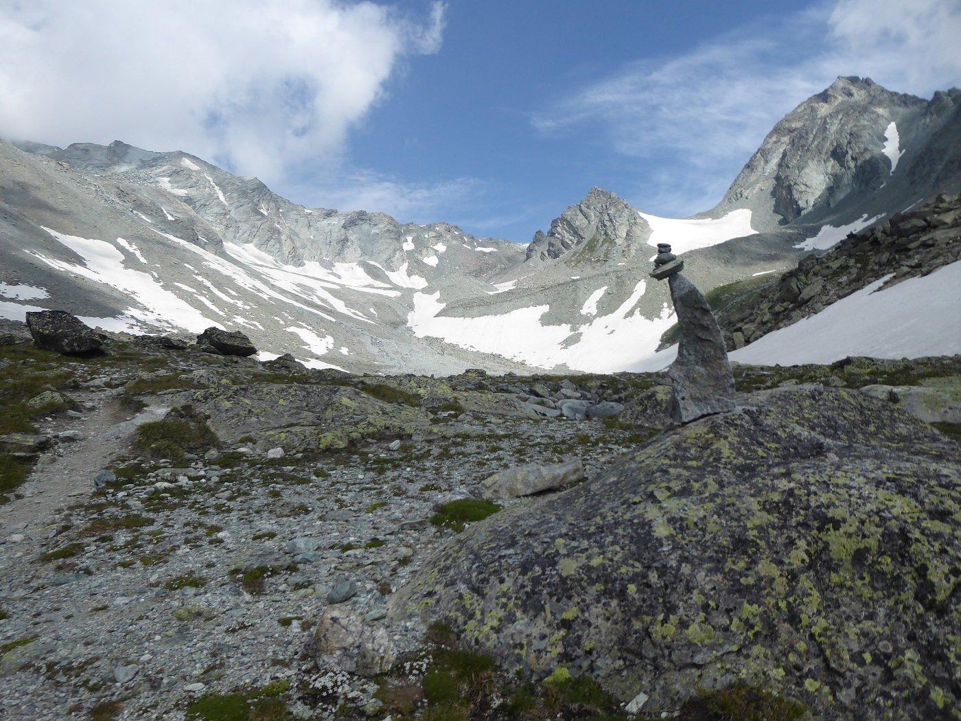 Gelé (Mont) Via Normale da Ruz per il Rifugio Crête Sèche 2019-07-20