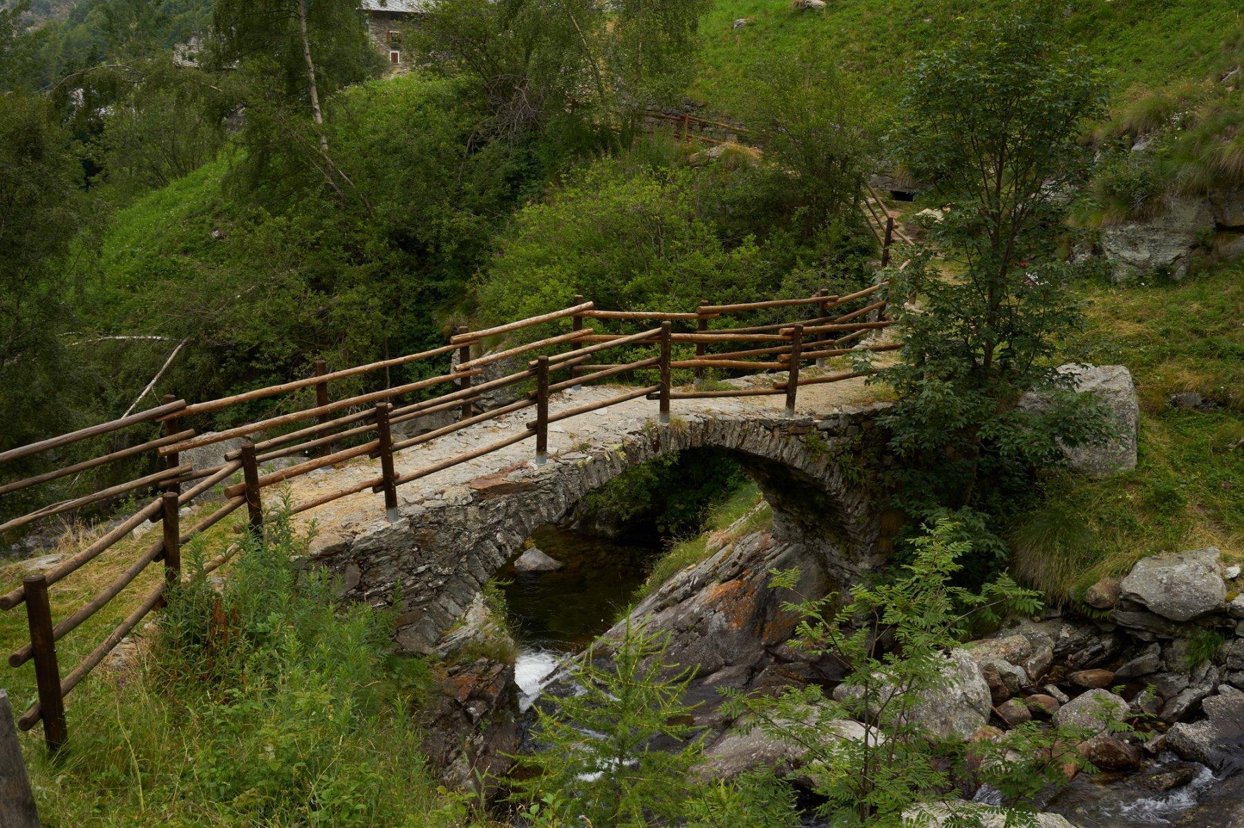 Il ponte poco dopo la partenza
