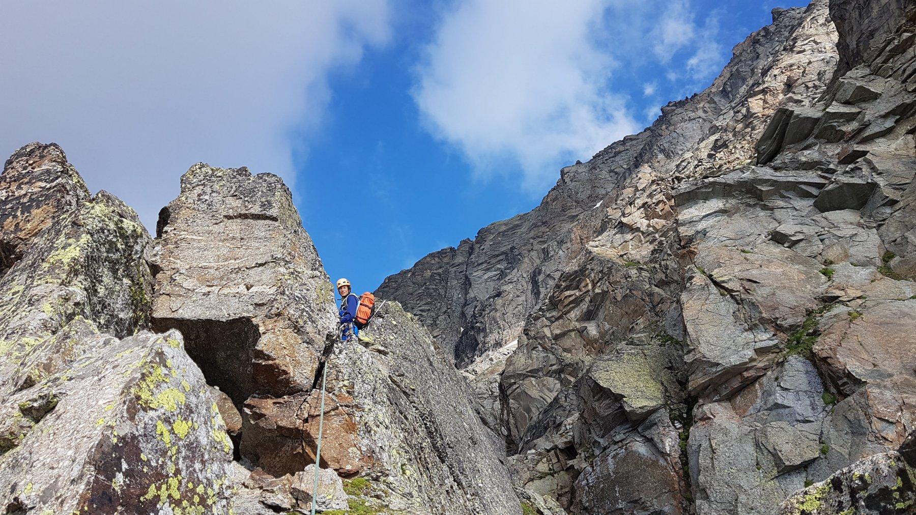 Clavarino Luigi (Punta) quota 3070 m Via Didattica 99 2019-07-21