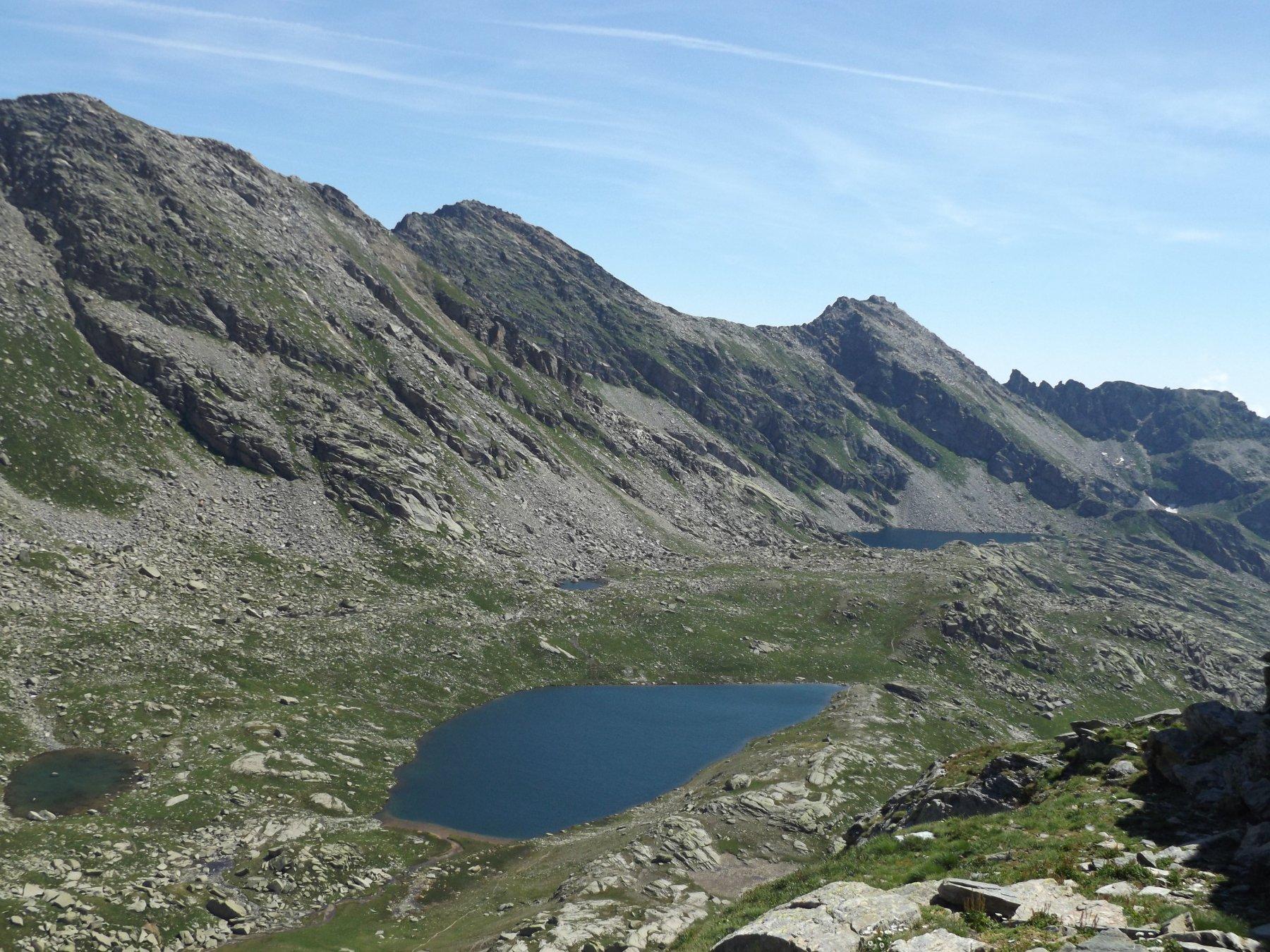 Lago di Fertà e Gran lago di Unghiasse
