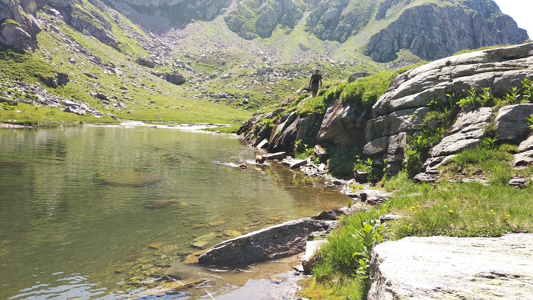 Bagno al laghetto di Lee
