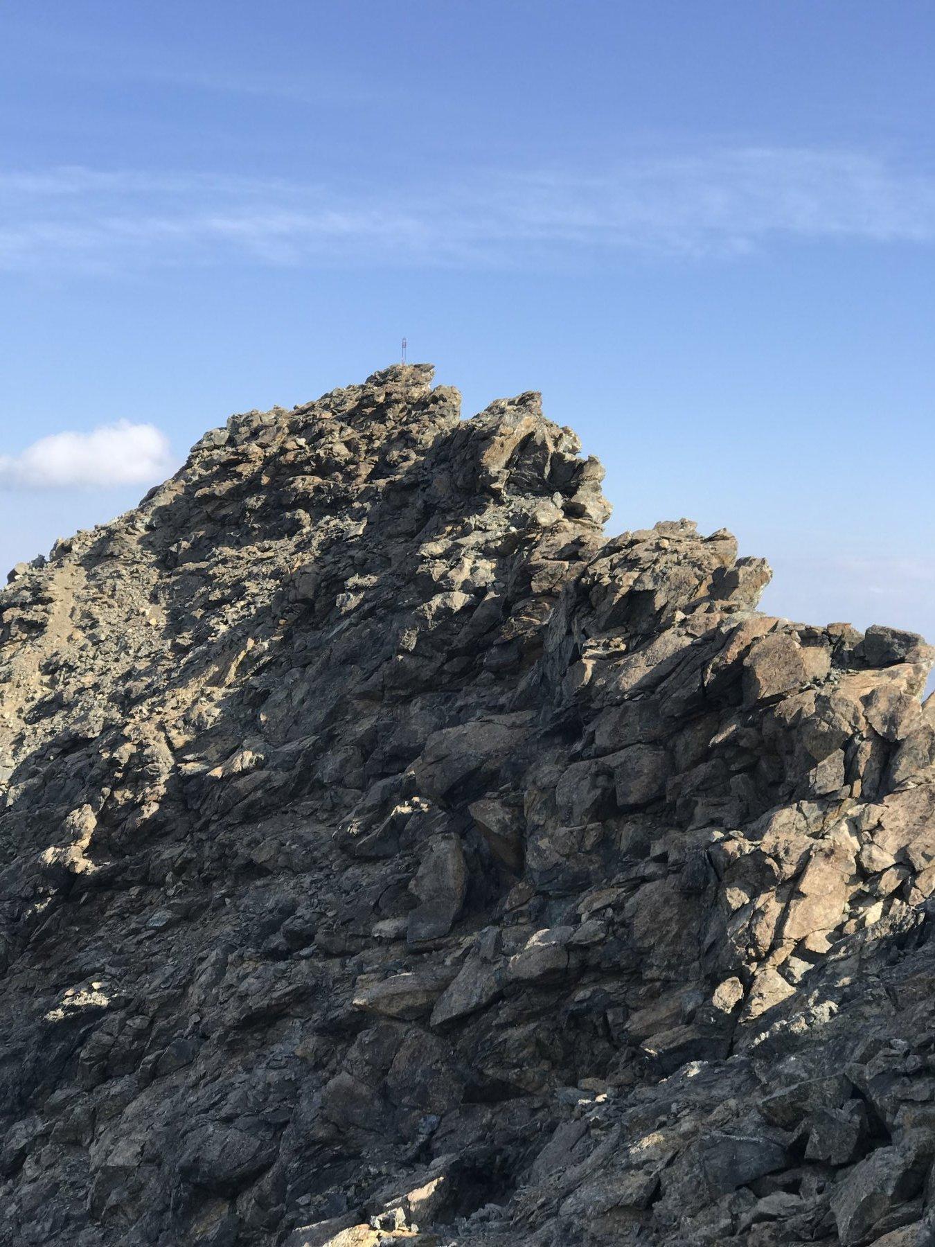 Venezia (Punta) e Rocce Fourion Cresta dal Colle delle Traversette al Colle del Coulour del Porco 2019-07-21