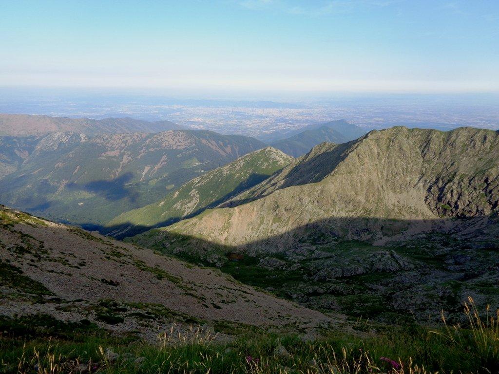 Valle di Susa dalla cima