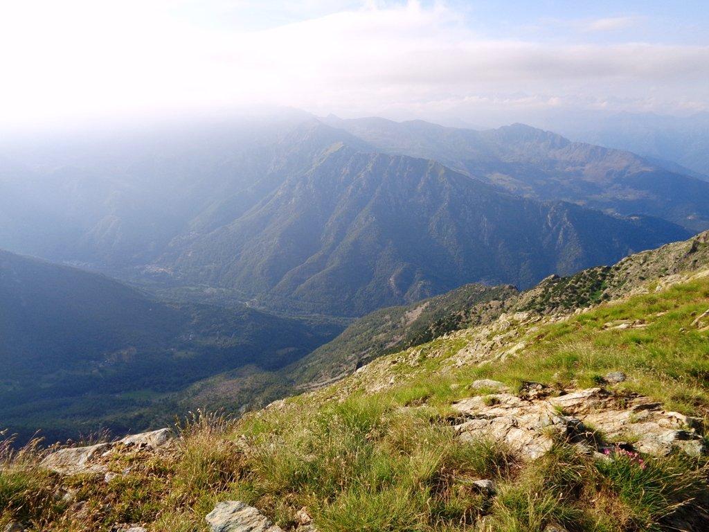 Foschia verso la Valle di Viu'