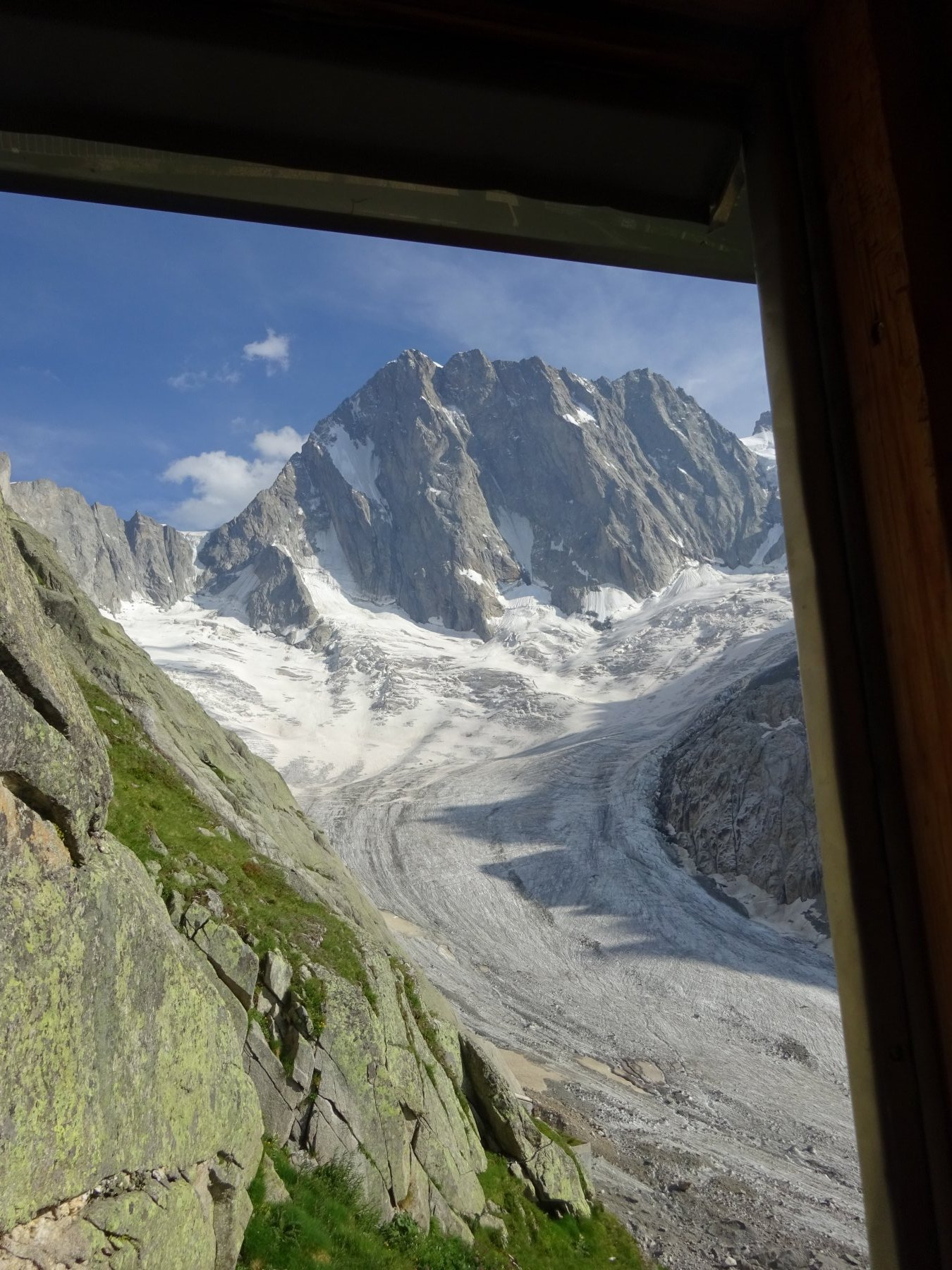 Grandes Jorasses Sperone Walker - Via Cassin 2019-07-23