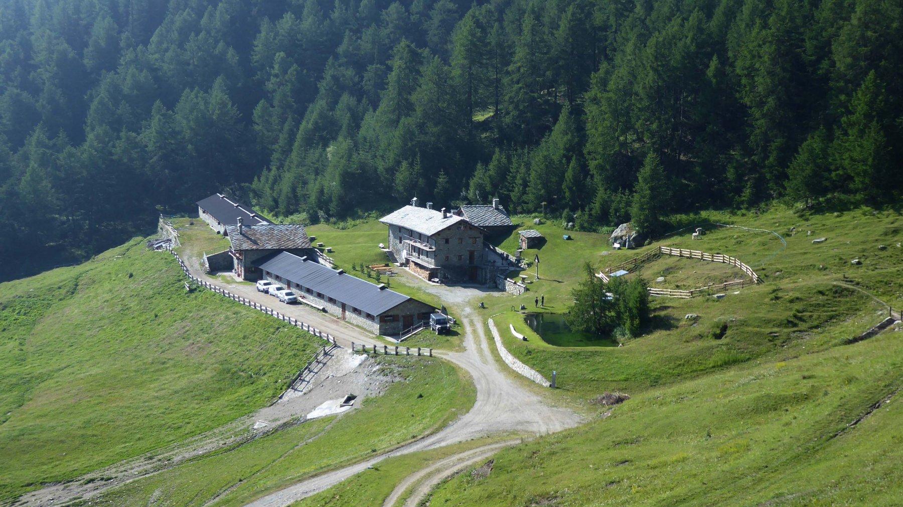 l'Alpe e Rifugio Chaligne