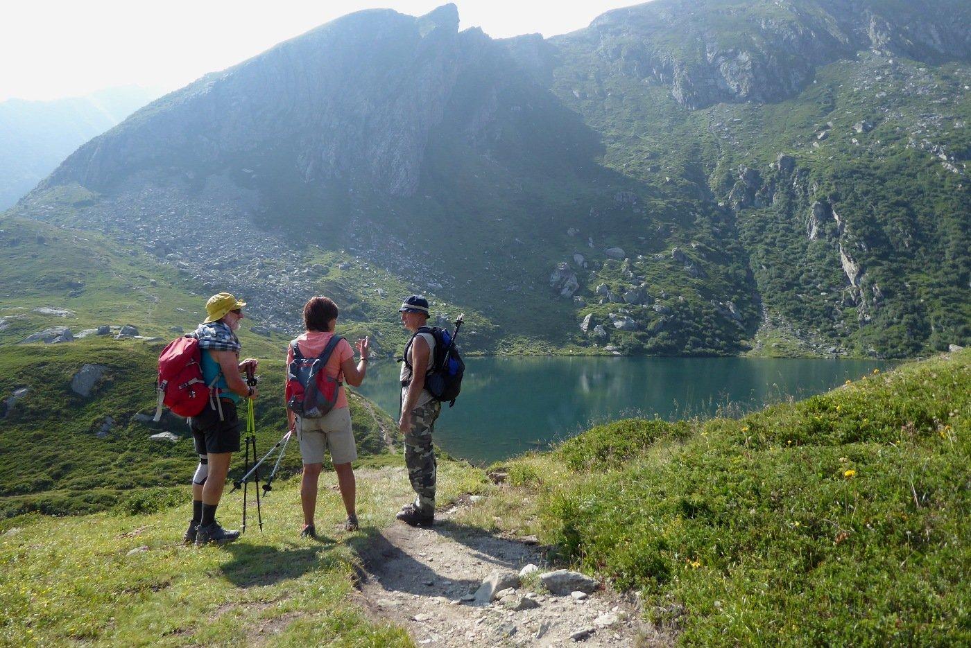 Quattro chiacchiere al lago