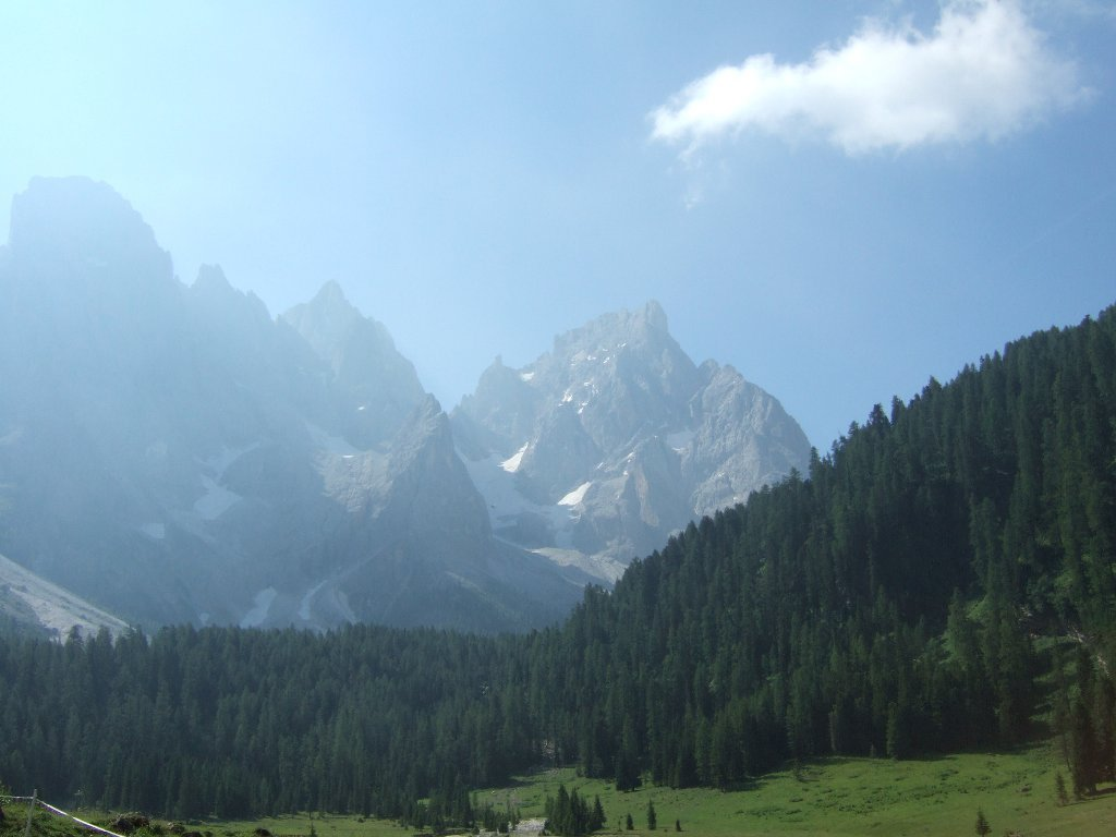 panorama da Pian Casoni