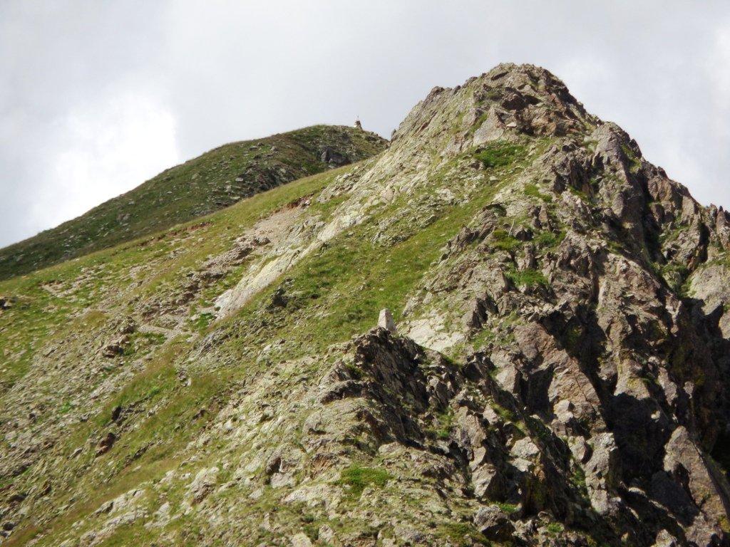 Sentiero per arrivare al colle di Seccia