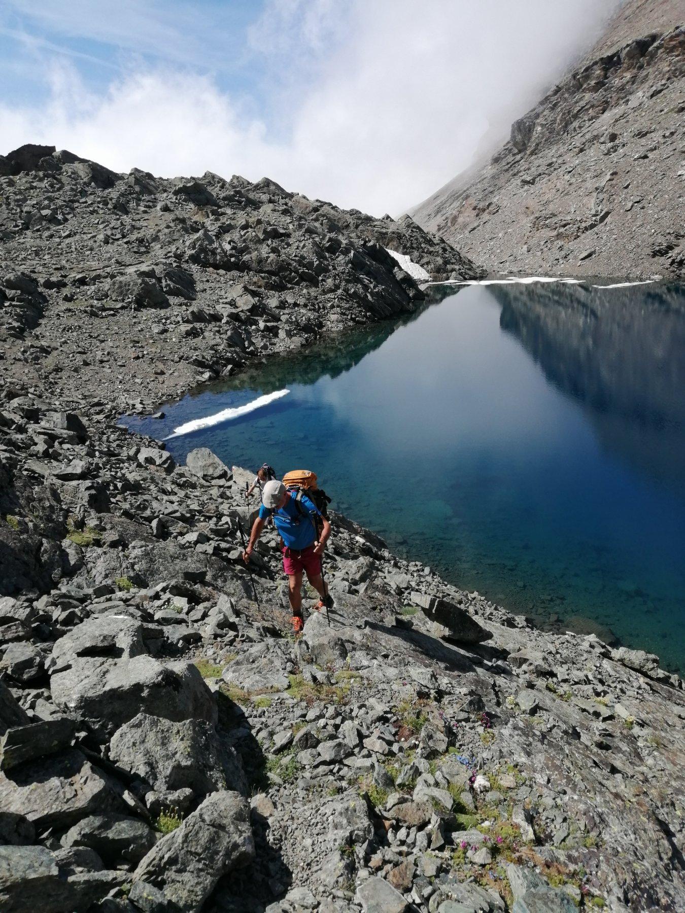 Lago superiore dell'Autaret
