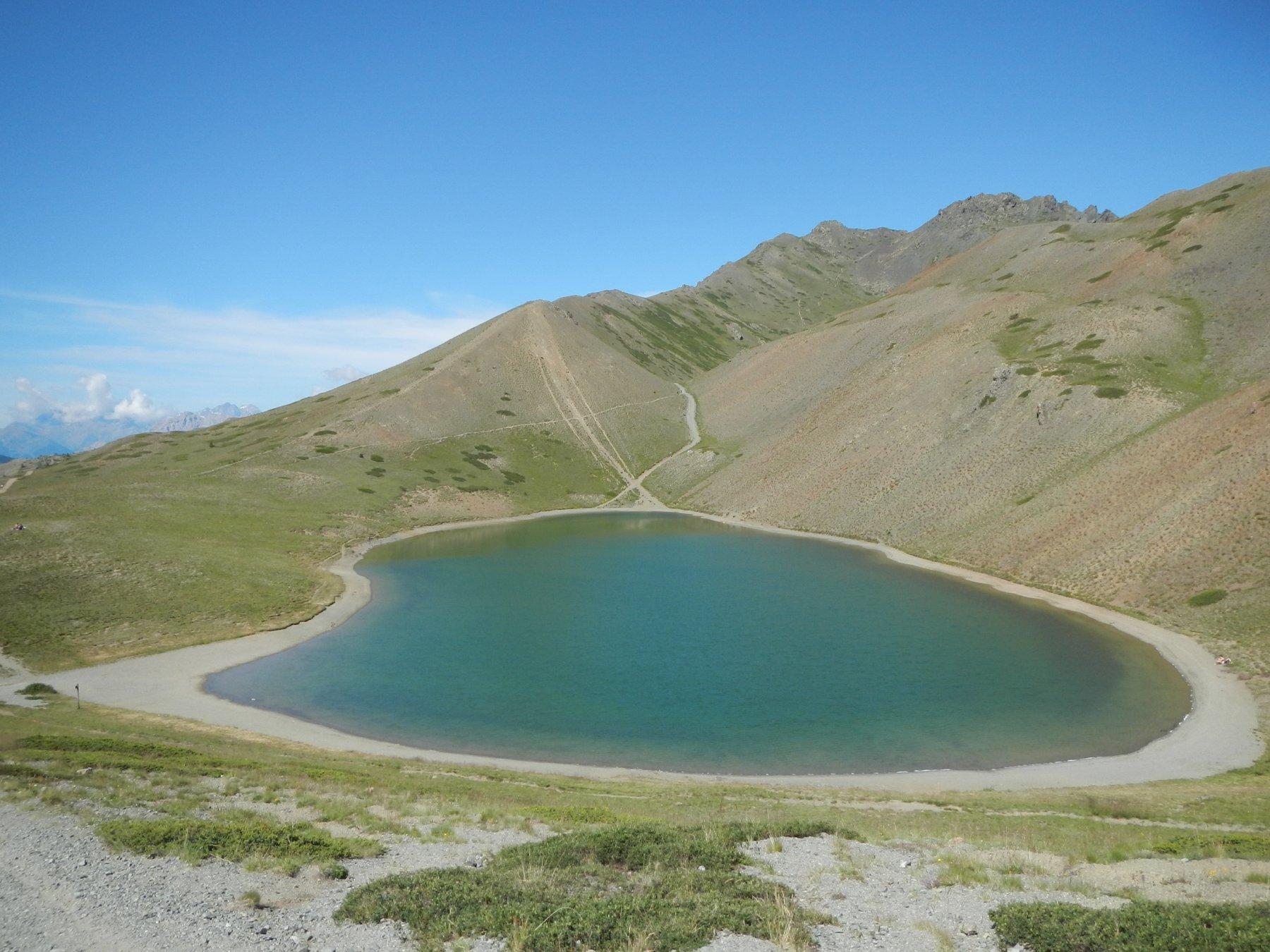 il Lago Gignoux ...o dei Sette Colori