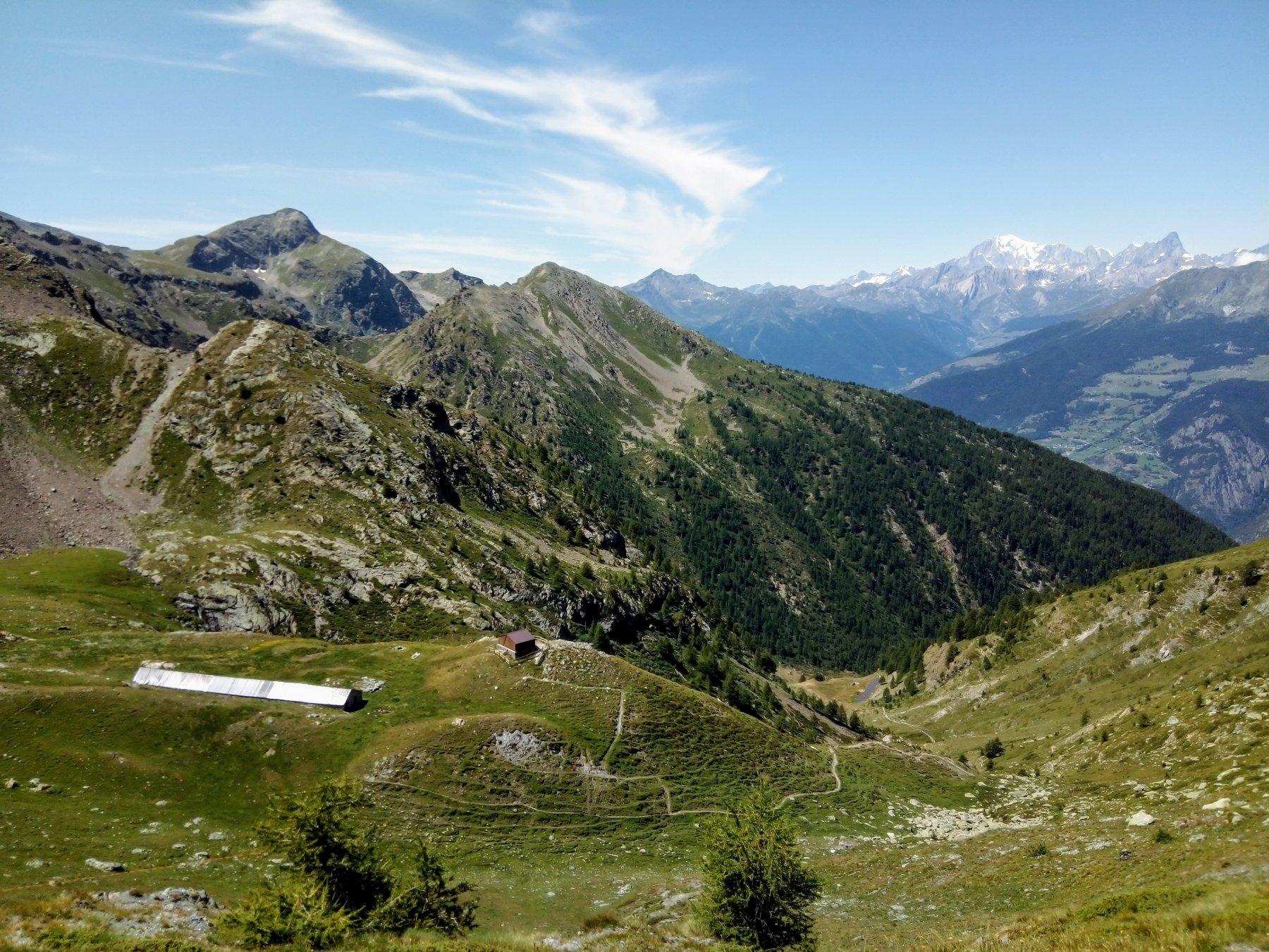 La Llièe (Bivacco) da Thoules per l'Alpe Verzignolette 2019-07-31