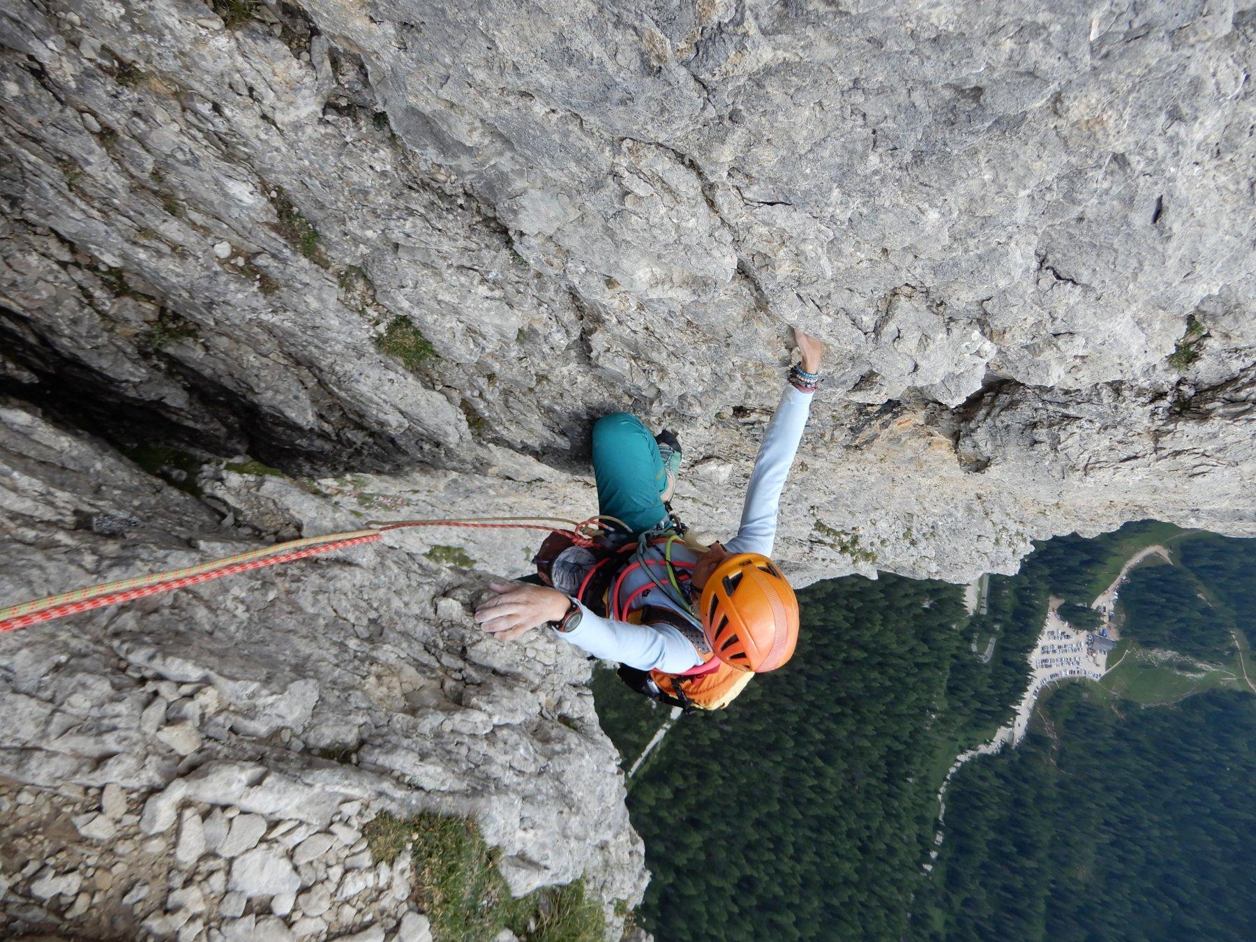 Gruppo di Fànis - Col dei Bòs Via Ada 2019-08-01