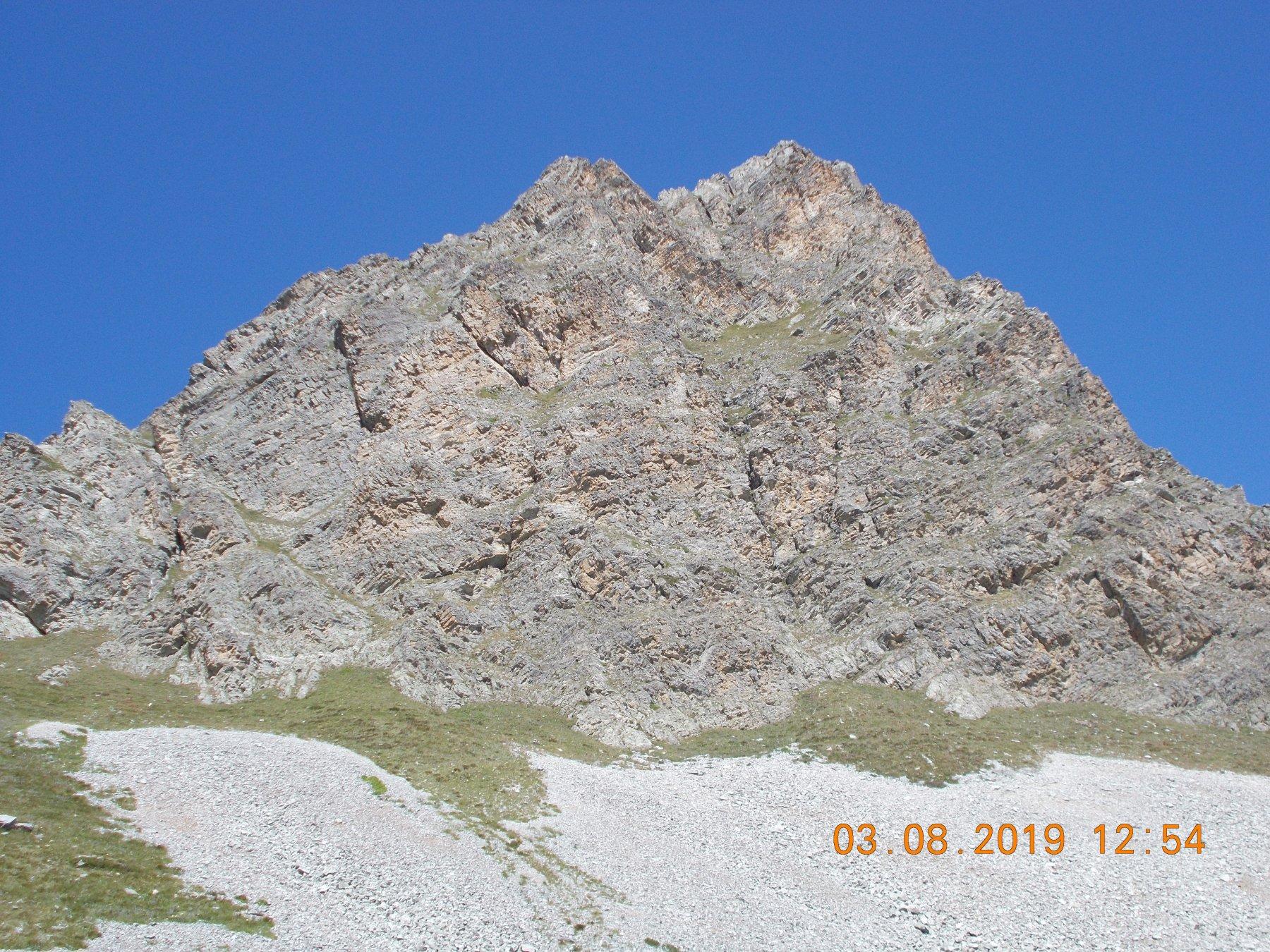 Monte Pelvo di Chiausis 2732m da Pian Traversagn 2400m