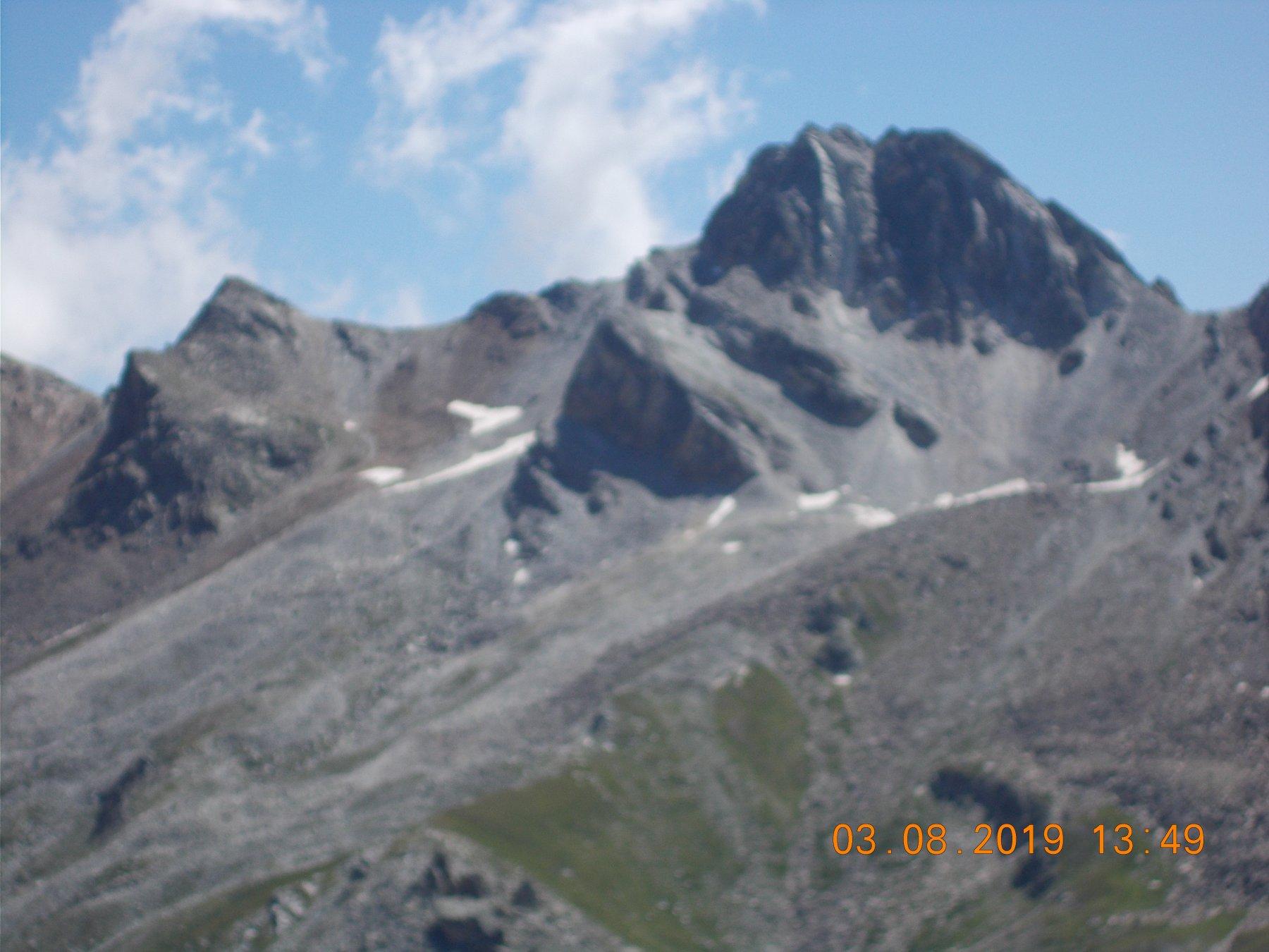 Dalla vetta Rocca la Marchisia 3072m