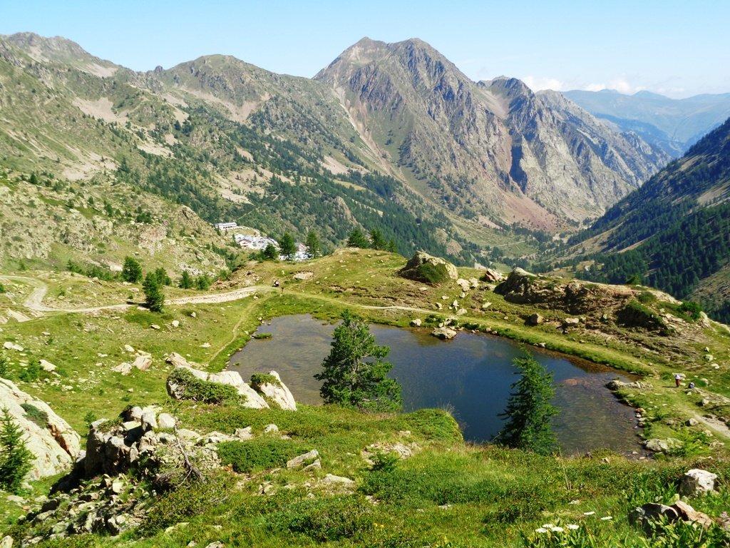 1' lago e Sant'Anna di Vinadio