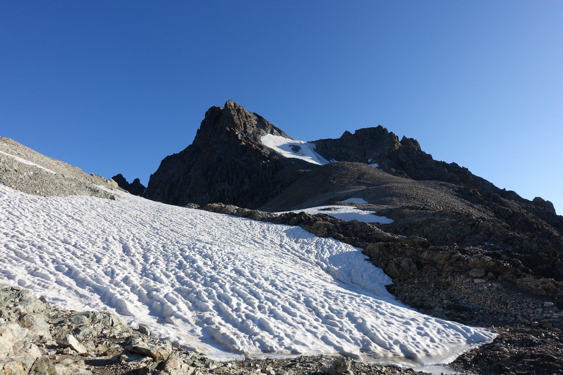 Coolidge (Pic) Via Normale da la Berarde per il Col de la Temple e la Cresta Sud 2019-08-04