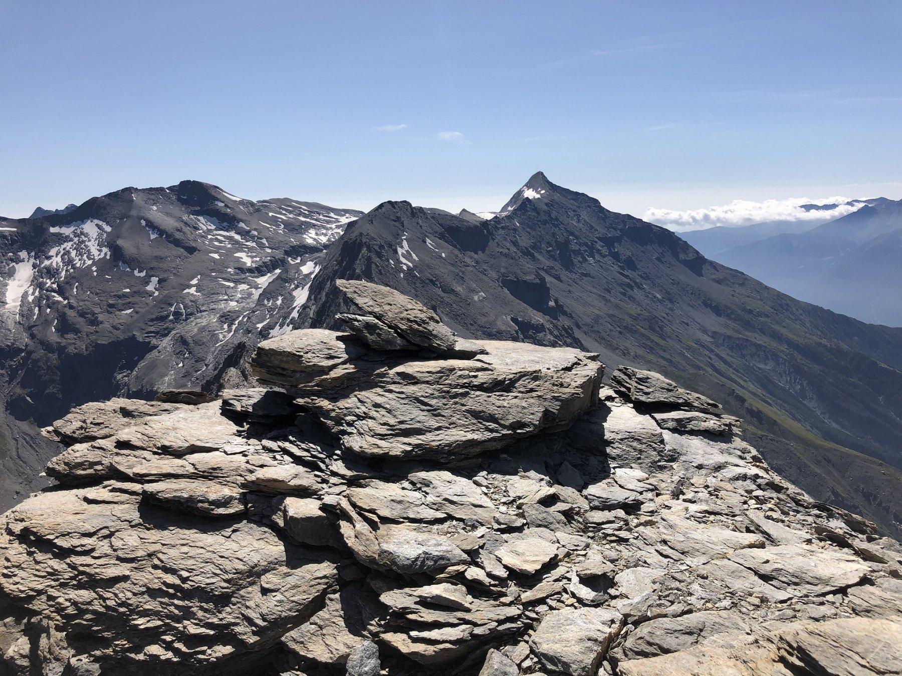 Dalla cima il Rocciamelone