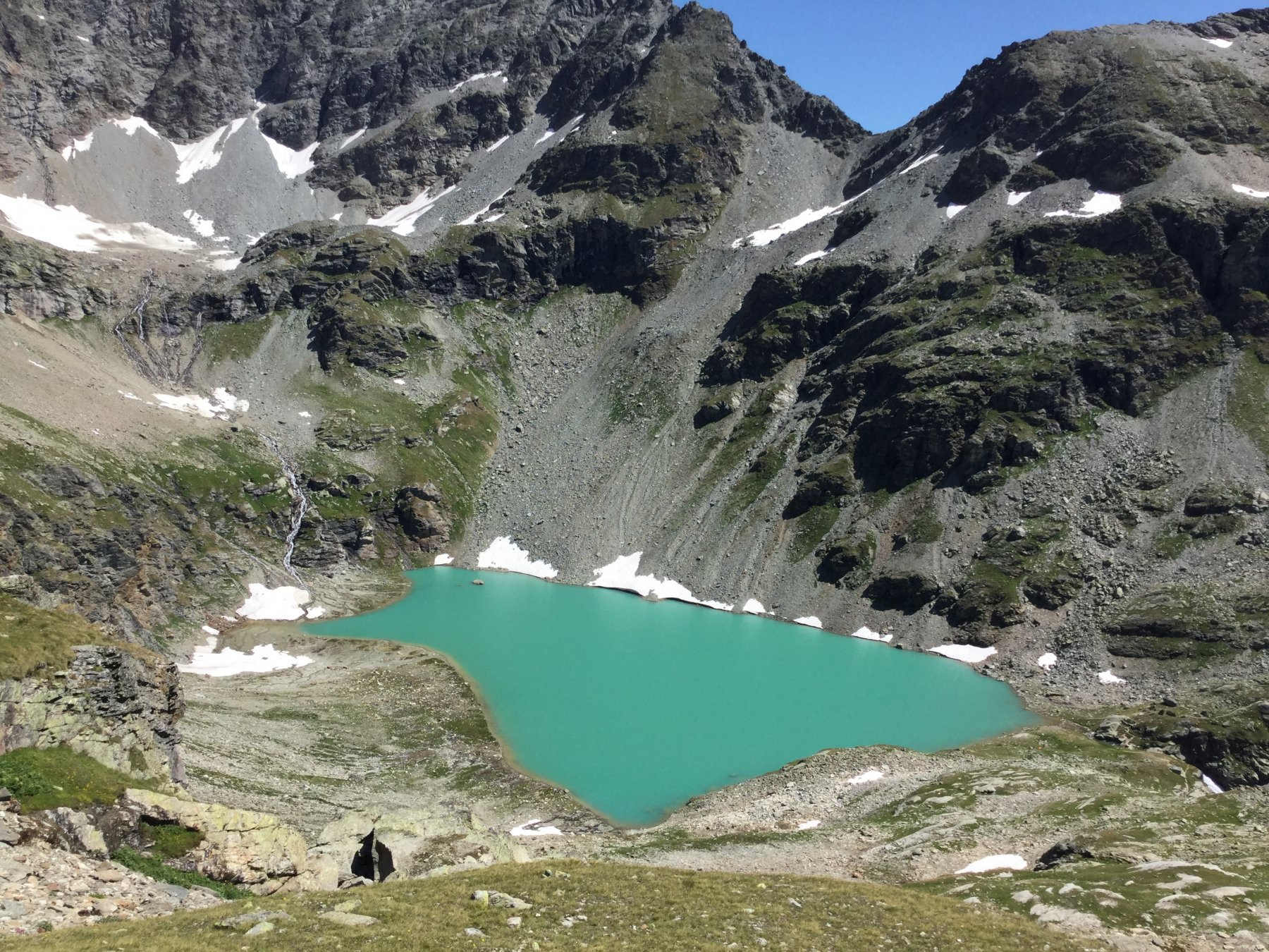 Sachère (Colle della) da Bivio Surrier-Grand Alpe 2019-08-04