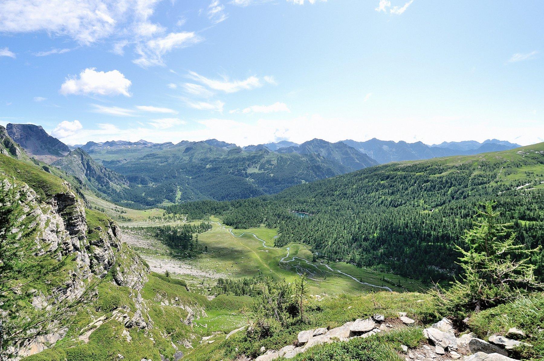 Vista sulla Val Buscagna