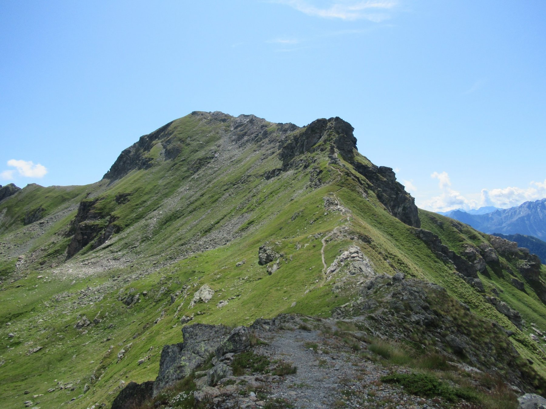 Morion (Monte) o Mont Rion da Porliod per il Col du Salvè, anello 2019-08-08