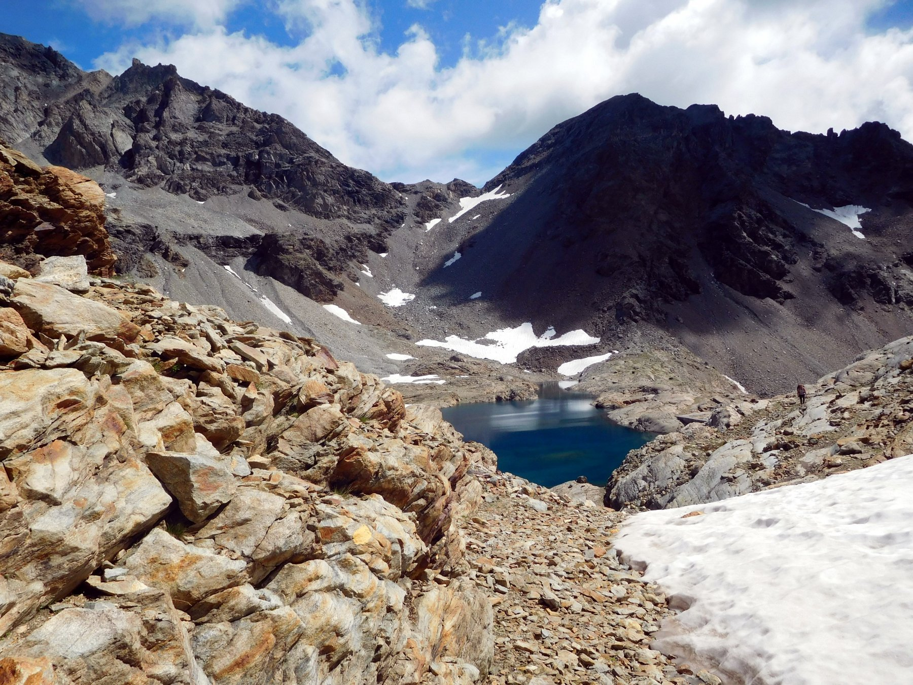Grand Lac e col de Vofrède