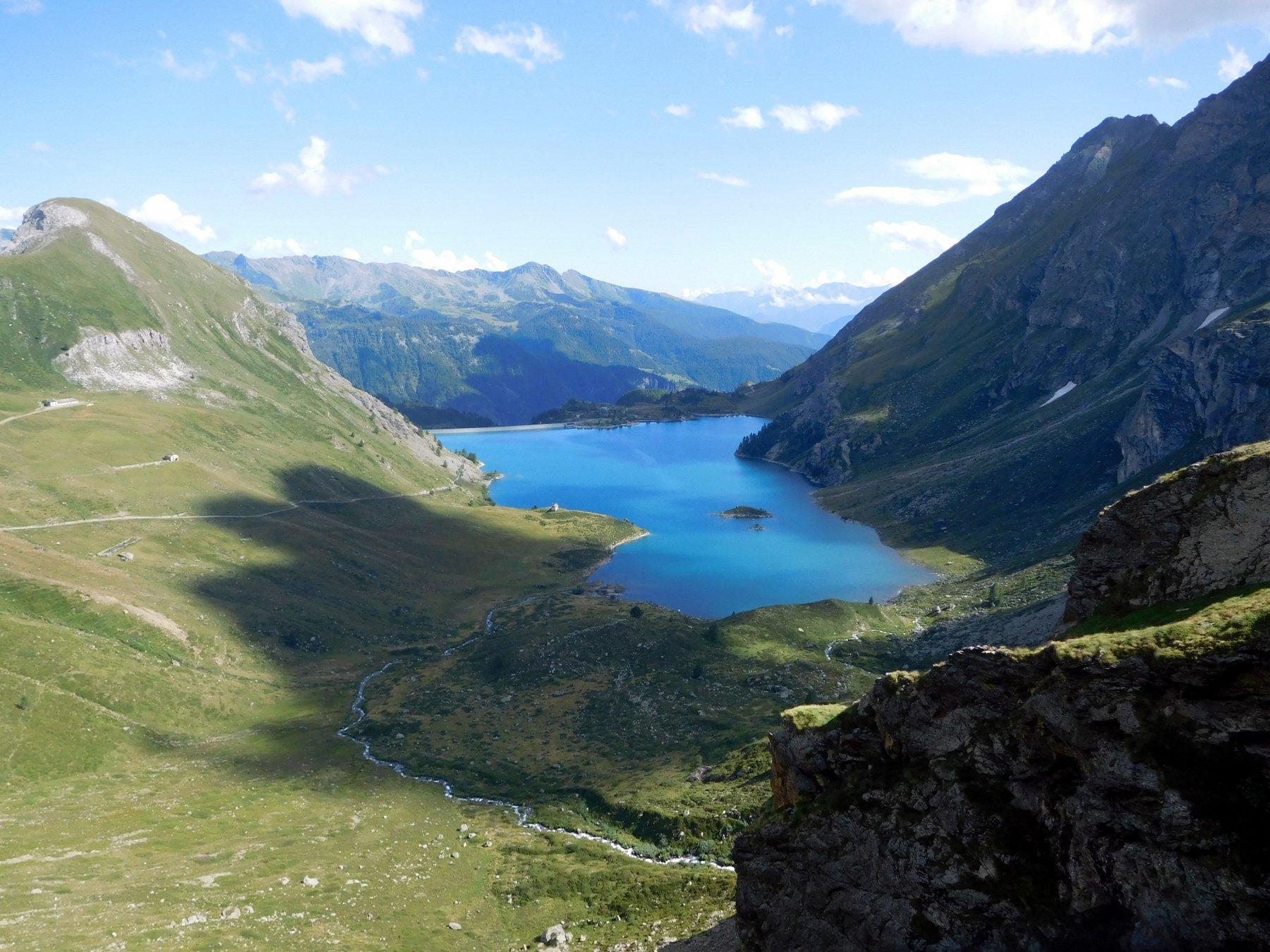 Rous (Mont) da Perreres per il Rifugio Perucca-Vuillermoz e il Colle di Vofrede 2019-08-08