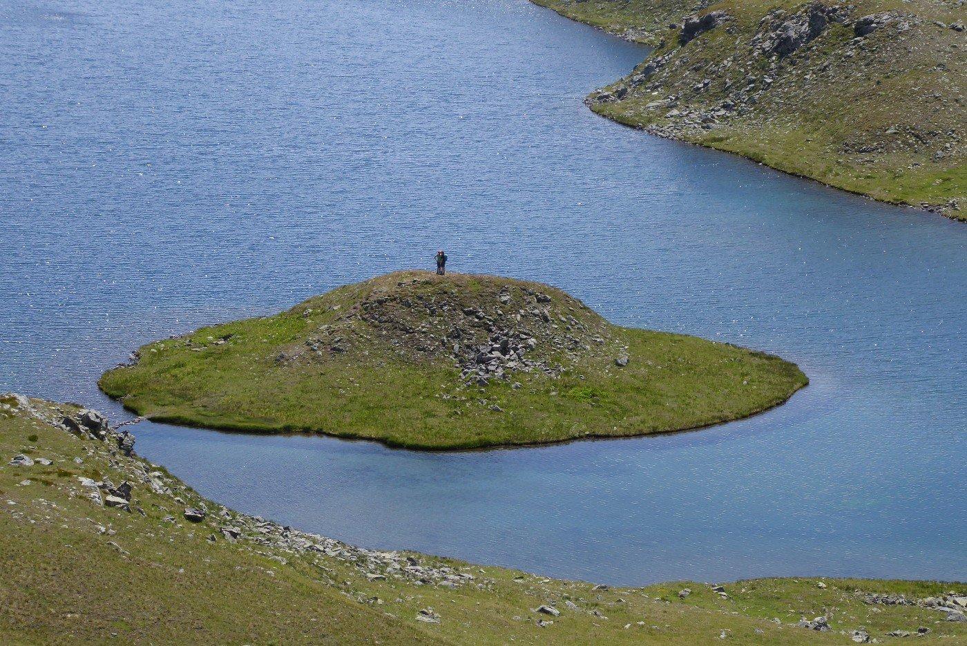 L'isoletta del lago Rosset