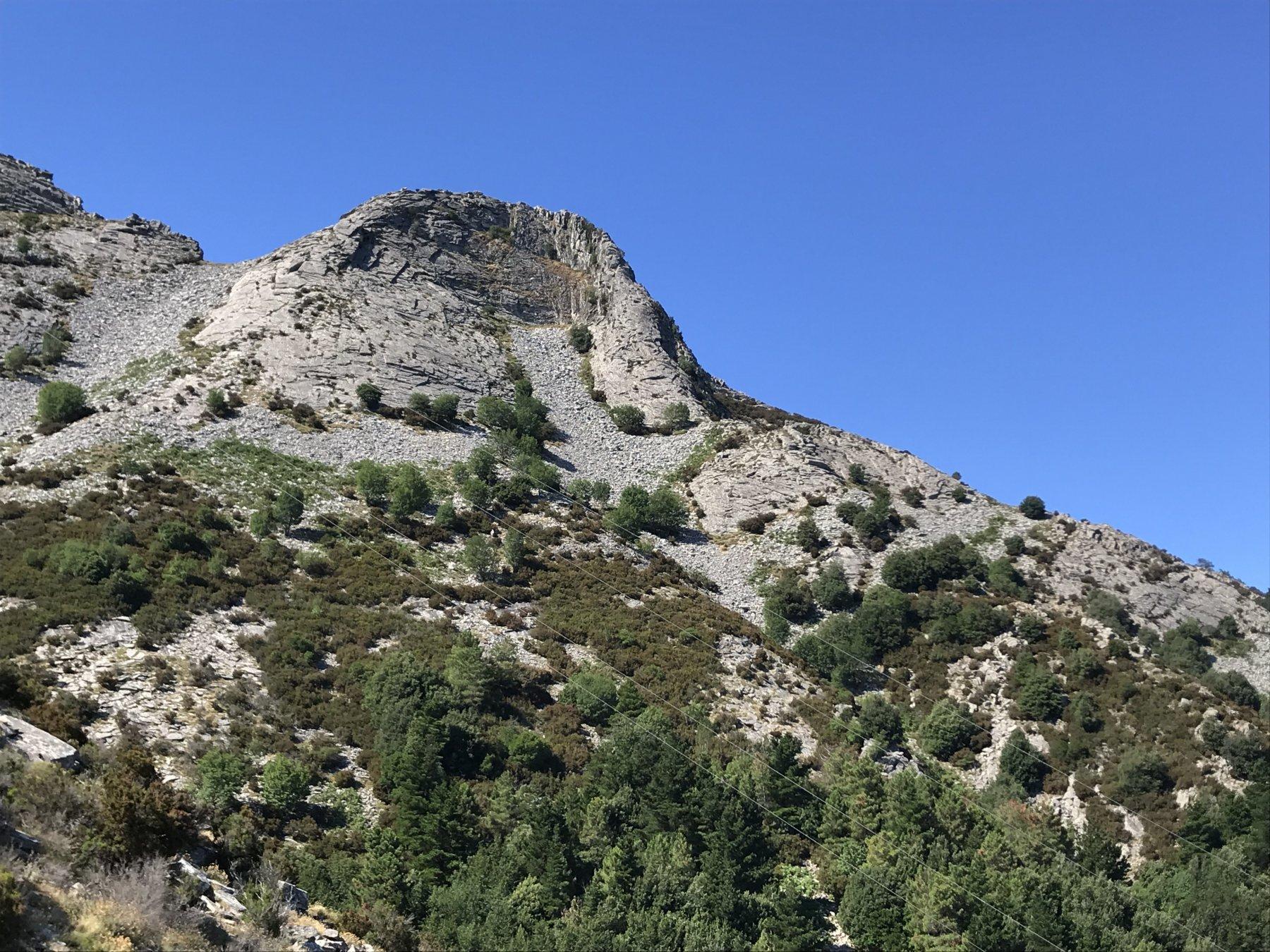 Monte Galera dalla cestovia