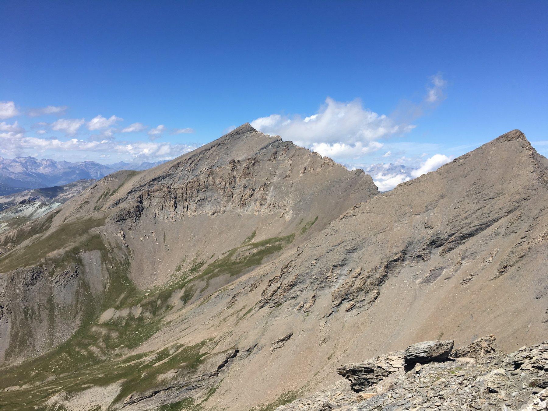 Platasse Rocce  Rouit  e Rognosa sullo sfondo