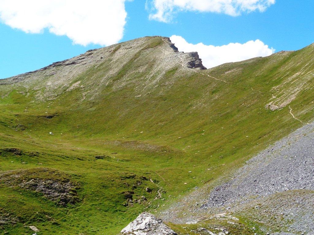 Monte Soubeyran dal Colle della Cavalla